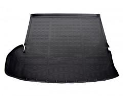 Коврик в багажник для Toyota Highlander '14-, длинный, полиуретановый, черный (Nor-Plast)