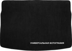 Коврик в багажник для Volkswagen Transporter T5 '10-15, с вырезом, текстильный черный