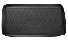 Коврик в багажник для Fiat 500 '08-, полиуретановый (NorPlast) черный