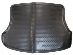 Коврик в багажник для Honda Civic 4D '12-17, полиуретановый (Novline / Element) черный