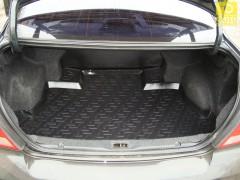 Коврик в багажник для Nissan Almera Classic '06-13, резино/пластиковый (Lada Locker)
