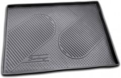 Коврик в багажник для Citroen Berlingo '08-18 (пасс.), полиуретановый (Novline / Element) черный, C000000015