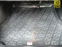 Коврик в багажник для Chevrolet Lanos / Sens седан, резино/пластиковый (Lada Locker)