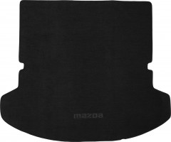 Коврик в багажник для Mazda CX-9 '08-16, (длинный), текстильный черный