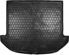 Коврик в багажник для Hyundai Santa Fe '13-17 DM (7 мест), резиновый (AVTO-Gumm)