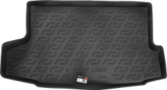 Коврик в багажник для Nissan Juke '15-, верхний, резино/пластиковый (Lada Locker)