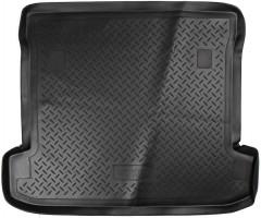 Коврик в багажник для Mitsubishi Pajero Wagon 4 (IV) '07-, полиуретановый (NorPlast) черный
