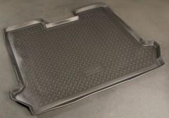Коврик в багажник для Fiat Doblo Panorama '01-09, полиуретановый (NorPlast) черный