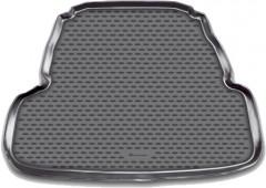 Коврик в багажник для Kia Cadenza '11-, полиуретановый (Novline / Element) черный