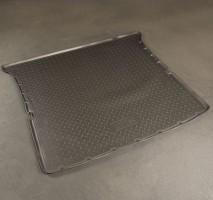 Коврик в багажник для Infiniti QX80 '11- (длинный), полиуретановый (NorPlast) черный