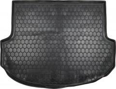 Коврик в багажник для Hyundai Santa Fe '13-17 DM (5 мест), резиновый (AVTO-Gumm)