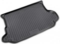 Коврик в багажник для Hyundai Tucson '03-09, полиуретановый (Novline / Element) черный