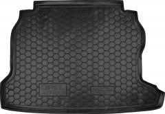 Коврик в багажник для Opel Astra G '98-10, седан, резиновый (AVTO-Gumm)
