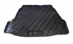 Коврик в багажник для Hyundai i40 '12- седан, резино/пластиковый (Lada Locker)