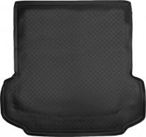 Коврик в багажник для Mitsubishi Pajero Sport II '08-16, полиуретановый (NorPlast), черный