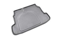 Коврик в багажник для Kia Cerato '09-13, полиуретановый (Novline / Element) черный