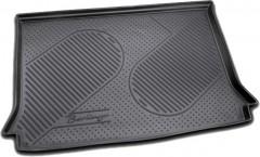 Коврик в багажник для Citroen Berlingo '97-07 (пасс.), полиуретановый (Novline / Element) черный EXP.C000000014