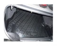 Коврик в багажник для Daewoo Nexia '86-05, резино/пластиковый (Lada Locker)