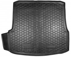 Коврик в багажник для Skoda Octavia A5 '05-13 лифтбэк, резиновый (Avto-Gumm)