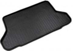 Коврик в багажник для Chevrolet Lacetti '03-12 хетчбэк, полиуретановый (Novline / Element) черный