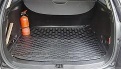 Фото 6 - Коврик в багажник для Renault Megane 3 '08-16 универсал, резиновый (AVTO-Gumm)