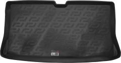Коврик в багажник для Nissan Micra '03-10, резино/пластиковый (Lada Locker)