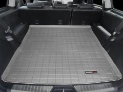 Коврик в багажник для Mercedes GL-Class X164 '06-11, длинный, резиновый (WeatherTech) серый