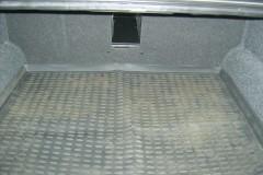 Коврик в багажник для Samand EL / LX 06-, полиуретановый (Novline / Element) черный