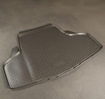 Коврик в багажник для Infiniti M (Q70) '11-, полиуретановый (NorPlast) черный