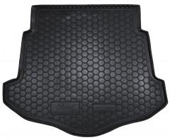 Коврик в багажник для Ford Mondeo '07-14 лифтбэк, с докаткой, резиновый (AVTO-Gumm)