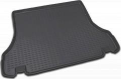 Коврик в багажник для Daewoo Lanos '98- седан, полиуретановый (Novline / Element) черный