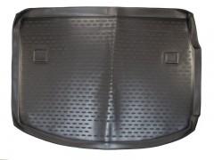 Фото 2 - Коврик в багажник для Renault Megane '08-16 хетчбэк, полиуретановый (Novline / Element) черный