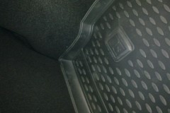 Фото 4 - Коврик в багажник для Renault Megane '08-16 хетчбэк, полиуретановый (Novline / Element) черный