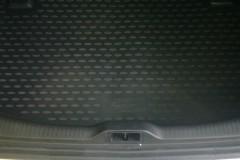 Фото 1 - Коврик в багажник для Renault Megane '08-16 хетчбэк, полиуретановый (Novline / Element) черный