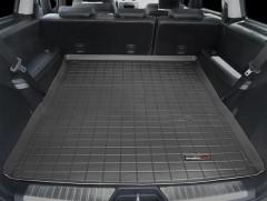 Коврик в багажник для Mercedes GL-Class X164 '06-11, длинный, резиновый (WeatherTech) черный