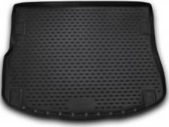 Коврик в багажник для Land Rover Range Rover Evoque '11-, без адаптивной системы крепления, полиуретановый (Novline) черный