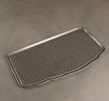 Коврик в багажник для Kia Picanto '11-17, полиуретановый (NorPlast) черный