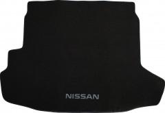 Коврик в багажник для Nissan X-Trail '08-15 (с органайзером), текстильный черный