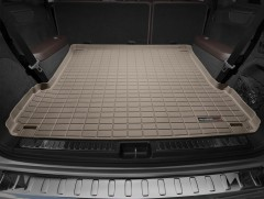 Коврик в багажник для Mercedes GL-Class/GLS X166 '12-, длинный, резиновый (WeatherTech) бежевый