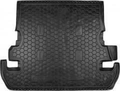 Коврик в багажник для Toyota Land Cruiser 200 '07- (7 мест) резиновый (Avto-Gumm)