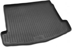 Коврик в багажник для Renault Megane '02-08 универсал, полиуретановый (Novline / Element) черный
