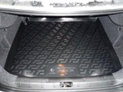 Коврик в багажник для Peugeot 206 '98-09 седан, резино/пластиковый (Lada Locker)