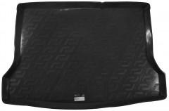 Коврик в багажник для Nissan Tiida '15- хетчбэк, резино/пластиковый (Lada Locker)