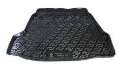 Коврик в багажник для Hyundai i40 '12- седан, резиновый (Lada Locker)