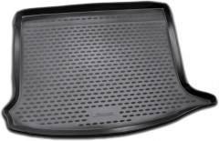 Коврик в багажник для Renault Sandero '08-12, полиуретановый (Novline / Element) черный