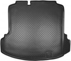 Коврик в багажник для Volkswagen Jetta V '06-10 седан, полиуретановый (NorPlast) черный