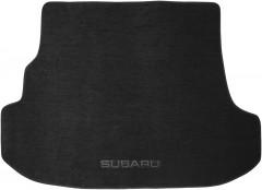 Коврик в багажник для Subaru Forester '03-08, текстильный черный