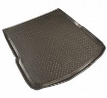 Коврик в багажник для Audi A6 '08-10 седан, резино/пластиковый (Norplast)