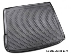 Коврик в багажник для Peugeot Bipper '08-, полиуретановый (Novline / Element)