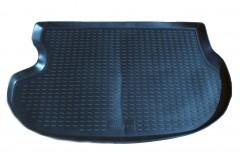 Коврик в багажник для Mitsubishi Outlander '03-07, полиуретановый (Novline / Element) черный